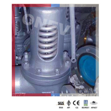 "Válvula de segurança manual Wcb para vapor de vapor (6 ""-150LB)"