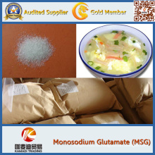 Ingrediente esencial glutamato monosódico (MSG)