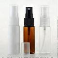 vide 50 ml couleur ambre pulvérisateur en plastique bouteille cosmétique