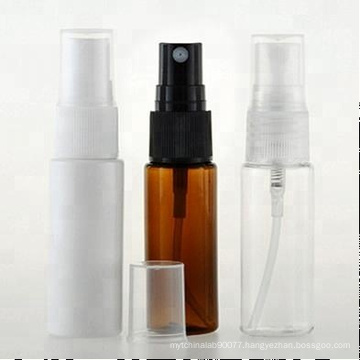 empty 50ml amber colour sprayer plastic cosmetic bottle