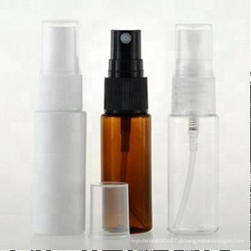 frasco cosmético plástico vazio do pulverizador da cor do âmbar 50ml