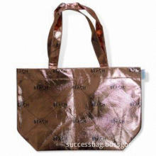 Shopping Bag Made of Non-woven Lamination Fabric, Customized Designs are Accepted
