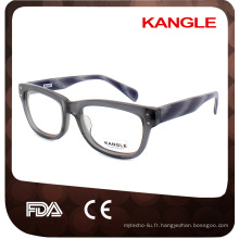 Les nouveaux produits de porcelaine portent le cadre de lunettes avec le support technique professionnel