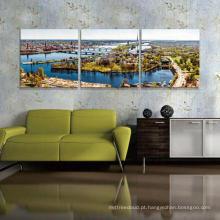 Pintura de paisagem original da criação de 100%