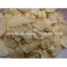 Fatias de garlic do pescoço