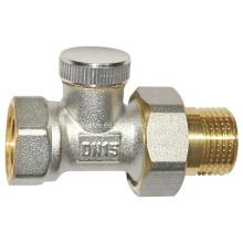 Латунный радиаторный клапан (a. 0158)