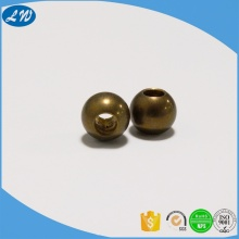 Brass ball stud fasteners end caps