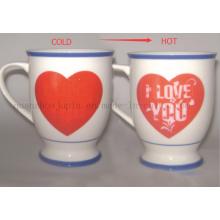Custom Hot Sale Magic Color Change Ceramic Mug for Promotion