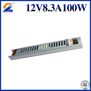 12V Slim SMPS 100W for LED Box