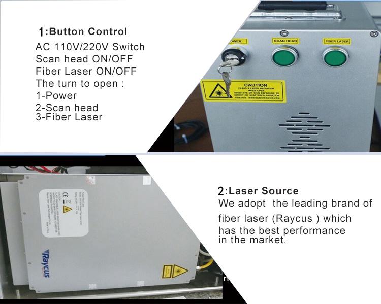 20W fiber laser