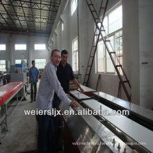 печатание прокатывая процесс двухшнековый экструдер ПВХ потолок производственной линии