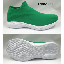 woman fashion fly knit casual sock sneakers