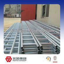 Q345 acier échelle poutre entrepôt structurelle