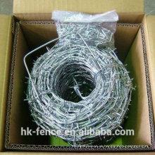 Arame farpado alto do revestimento de zinco da torção reversa do GH de Austrália