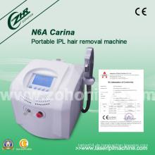N6a Neueste CE genehmigt IPL Beauty Instrument für Haarentfernung