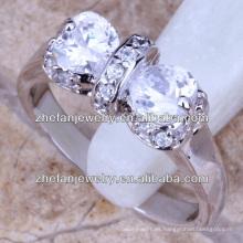 precio de plata del anillo del arco del platino de la manera 925 en la India