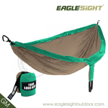 Best for Backpacking Compressed Double-Sized Parachute Hammock