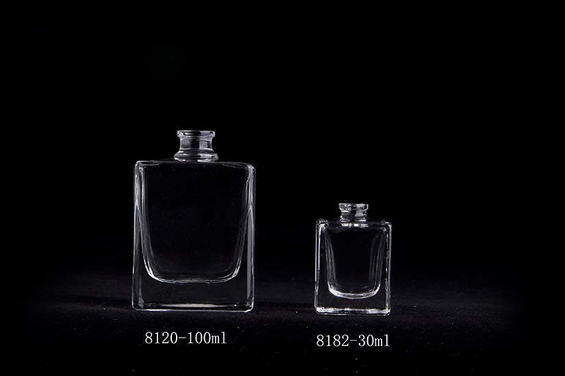 Perfume Glass Square Bottle