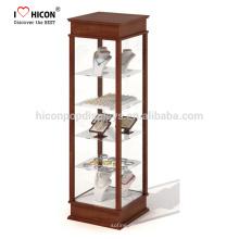 Reloj y joyas de cristal de la caja de presentación para satisfacer los requisitos específicos de nuestros clientes Retailing por soluciones asequibles y atractivos