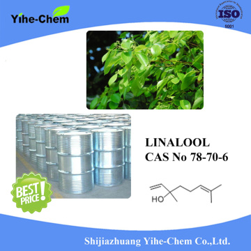 Natural linalool Colorless or yellowish liquid