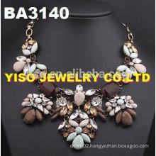 new style gemstone necklace