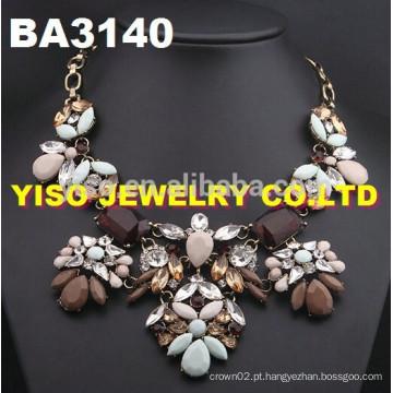 Novo estilo colar de gemstone