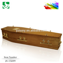 best price antique cheap cremation wooden coffin