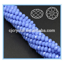 Perle de verre en cristal rondelle perles cristal 4mm