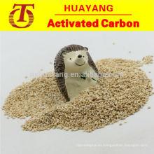Mazorca de maíz para la extracción de metales pesados de aguas residuales