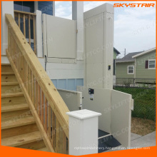 3.5M Indoor and outdoor wheelchair lift elevator