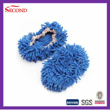 Clean Floor Long Chenille Slippers