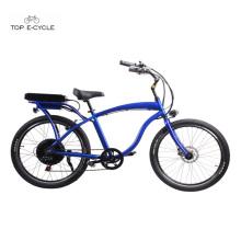 Bicicletas motorizadas baratas do cruzador da praia do interruptor inversor adulto / ebike / bicicleta