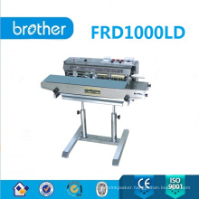 Plastic Bag Sealer with Solid-Ink Coder with Stand