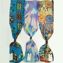 O último lenço de mulheres Tie Scarf Accessories