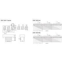 0.28 Дюймовый 3-значный 7-сегментный дисплей (GNS-2831Ax-Bx)