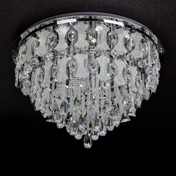 lampu langit-langit kristal down light chandelier