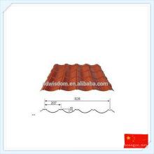 China Vorgefertigte hochwertige Fertigteil-Metallplatte für Dach