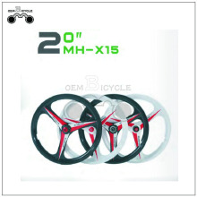 20inch cassette mag wheels for bicycle