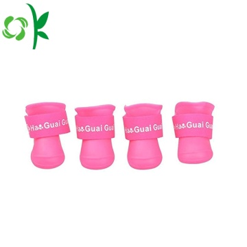 Zapatos para perros Summer Silicone Pet New Rain Boots