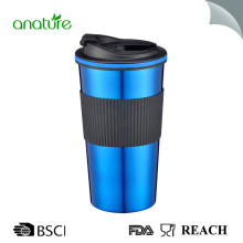 16OZ Stainless Steel Coffee Mug With Flip Lid