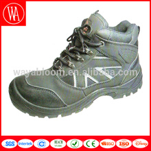 Custom durable SRC leather work safety boots
