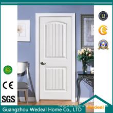 Puerta interior clásica de madera maciza blanca de Europa