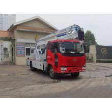 FAW new rear mount bucket truck for sale