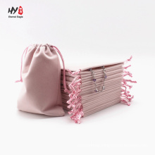 Low price bulk soft velvet pouch