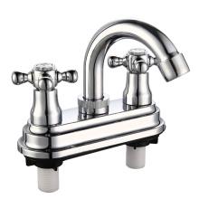 """4 """"ABS Plastic Basin Wasserhahn mit Chrom-Finish"""