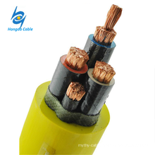 0.3 / 0.5KV Rubber Sheathed Coal Mine Drill Flexible Cable Elastomer (Rubber) Insulated Cable