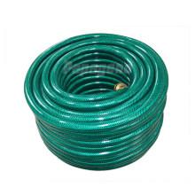 Manguera trenzada del agua del jardín del PVC de 3/4 pulgadas