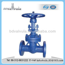 DIN carbon steel low pressure manual gate valve