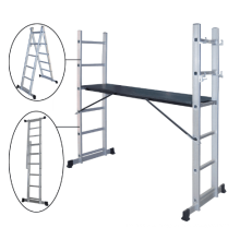Working platform & Scaffold Structure and Folding Ladders Feature mobile ladder
