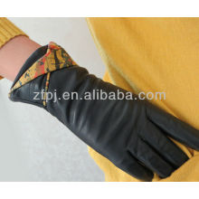 2012 newest Oil painting type leather glove